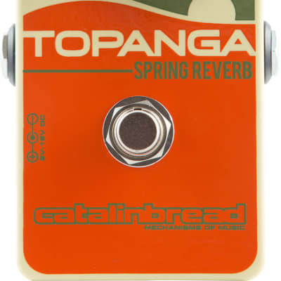New Catalinbread Topanga Spring Reverb Guitar Effects Pedal!