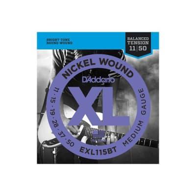 D´Addario EXL115BT Balanced Nickel Wound Electric Strings 11-50.