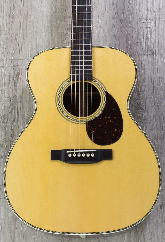 martin standard series om 28 acoustic guitar 000 body shape reverb. Black Bedroom Furniture Sets. Home Design Ideas