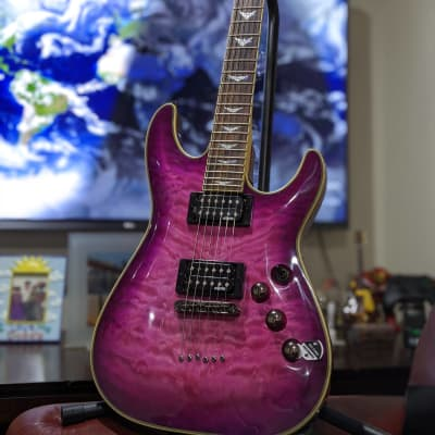 Schecter  Omen Extreme-6 Electric Guitar 2020  Electric Magenta