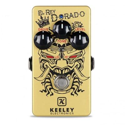 Keeley Electronics El Rey Dorado Plexi Tone Overdrive Guitar Effects Pedal