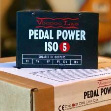 Voodoo Lab Pedal Power Iso 5 2017 Black