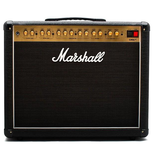 Marshall Dsl40cr 40 Watt 1x12 Tube Combo Amplifier For Manual Guide