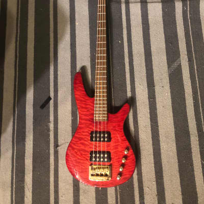 Ibanez Srx 690dx 2008 Red flamed maple top