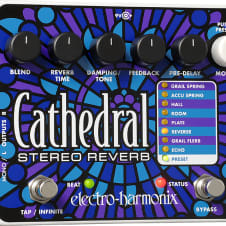 Electro Harmonix Cathedral Stereo Reverb Effect Pedal
