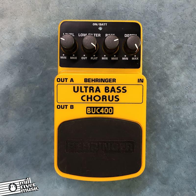 Behringer BUC400 Ultra Bass Chorus Effects Pedal