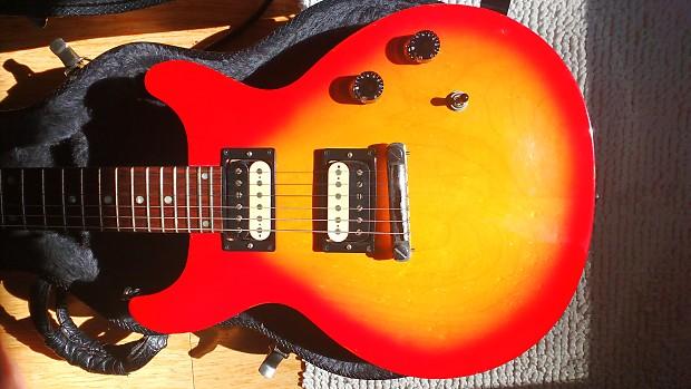 1997 Gibson Les Paul Studio DC Cherry Sunburst, Manlius | Reverb on