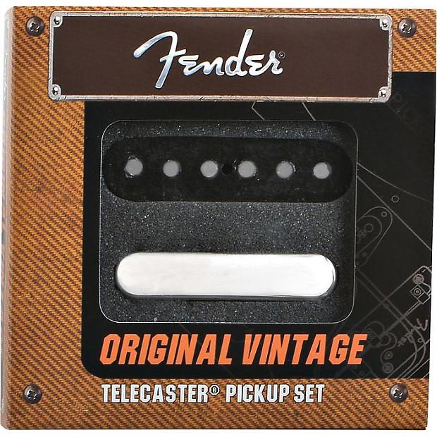 fender original telecaster pickup set price drop reverb. Black Bedroom Furniture Sets. Home Design Ideas