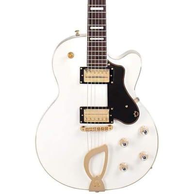 Guild Aristocrat HH Harp Tail Electric Guitar - Snowcrest White