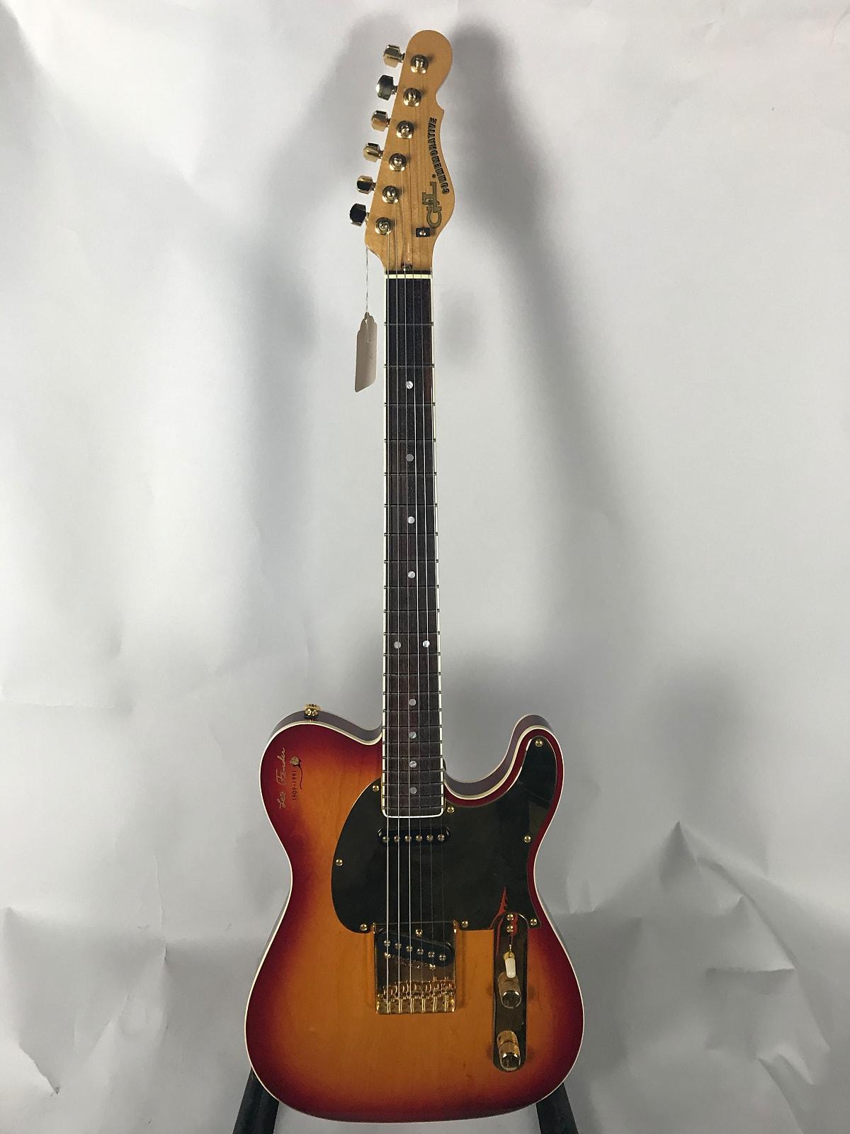 G&L Leo Fender Commemorative #6 of 1000 1991 Cherry Sunburst