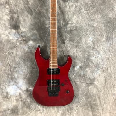 ESP LTD M-200 FM 2018 See Thru Red for sale