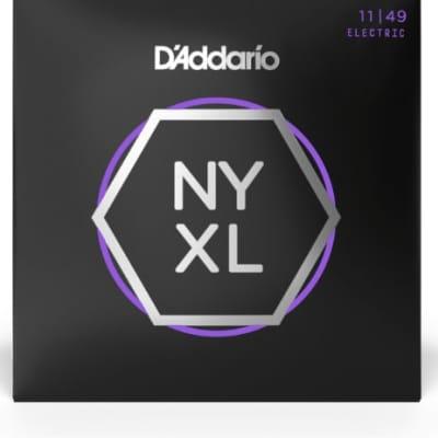 D'Addario NYXL1149 Nickel Wound Electric Guitar Strings Medium 11-49