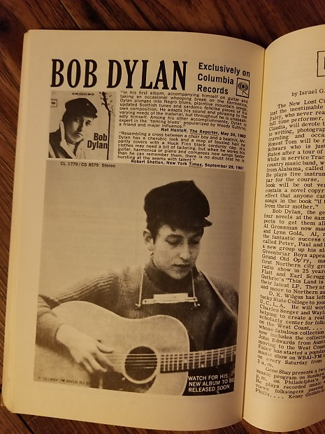 Bob Dylan -Sing Out! The Folk Song Magazine 1962 Rare and Collectible