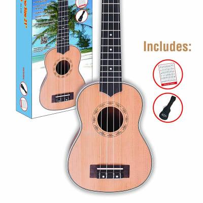 Aloha Ukulele Pack Natural for sale