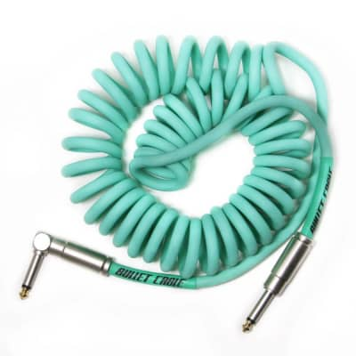 Bullet Cable 15′ Coil Cable - Sea Foam