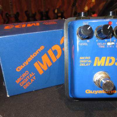 Preowned Guyatone MD3 Micro Digital Delay Blue for sale