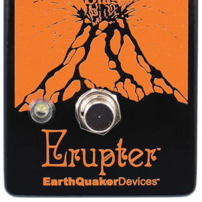 EARTHQUAKER DEVICES ERUPTER - ULTIMATE FUZZ for sale