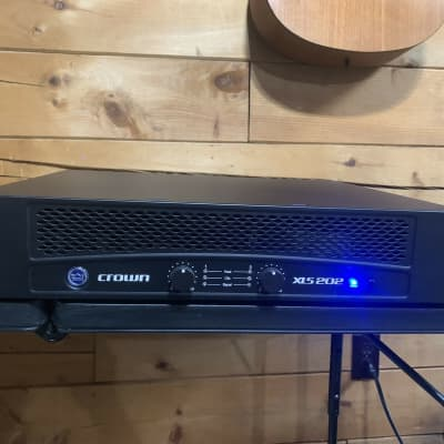 Crown XLS 202 2-Channel Power Amp (church owned) w/ Power Cord for sale