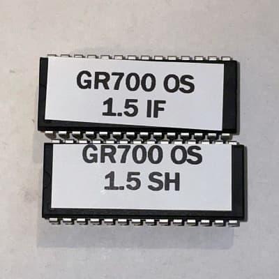 Roland GR-700 OS 1.5 (v5) latest ROM upgrade firmware kit set of 2 EPROM gr700