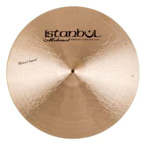 "Istanbul Mehmet 21"" Legend Ride Cymbal w/ Rivets"