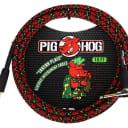 Pig Hog PCH10PLR Tartan Plaid Vintage Series Instrument Cable, 10 Ft Right Angle