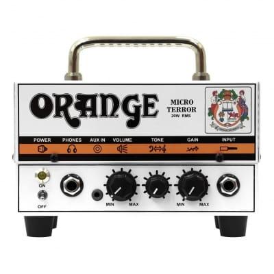 Orange MT20 Amplifiers Micro Terror  20W Hybrid Guitar Amp Head