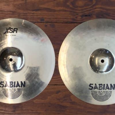 "USED Sabian XSR 14"" Hi-Hat Cymbals (Pair)"