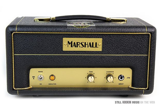 MARSHALL JTM-1H MINT IN BOX 50th Anni 1w Tube Guitar Amp Head jtm-1 jtm1