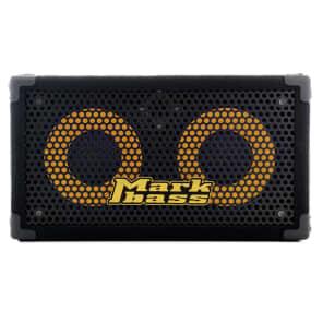 "Markbass MBL100001 Traveler 102P Rear-Ported Compact 2x10"" Bass Speaker Cabinet - 4 Ohm"