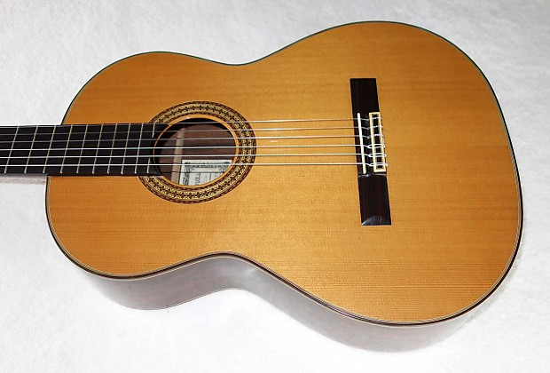 vintage 1976 ryoji matsuoka m60 classical guitar w case reverb. Black Bedroom Furniture Sets. Home Design Ideas