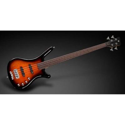 Warwick Rockbass Corvette Classic 4-String Bass, Almond Sunburst High Polish