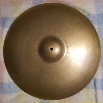 """Zildjian 21"""" A. Zildjian & Cie Constantinople Ride Cymbal 1973 - 1987"""