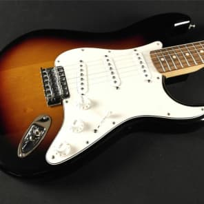 Fender Standard Stratocaster - Rosewood Fingerboard - Brown Sunburst - (698) for sale
