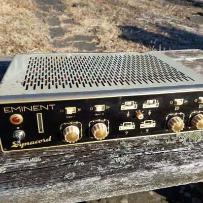 RARE Dynacord Eminent 1960s Mixer Amplifier - Full Recap - Works Great! **look** for sale