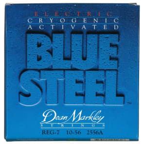 Dean Markley 2556A Blue Steel 7-String Electric Guitar Strings - Regular (10-56)