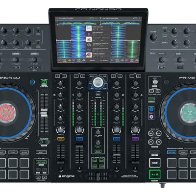 "Denon DJ Prime 4 - Standalone 4-Deck DJ System with 10"" Touchscreen Display Model"