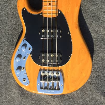 Music Man Sabre Bass Lefty Natural Maple Neck Pre Ernie Ball 1980 for sale
