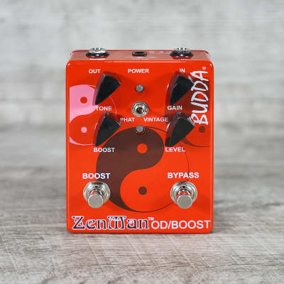 Budda Amplification Zenman Overdrive Pedal for sale