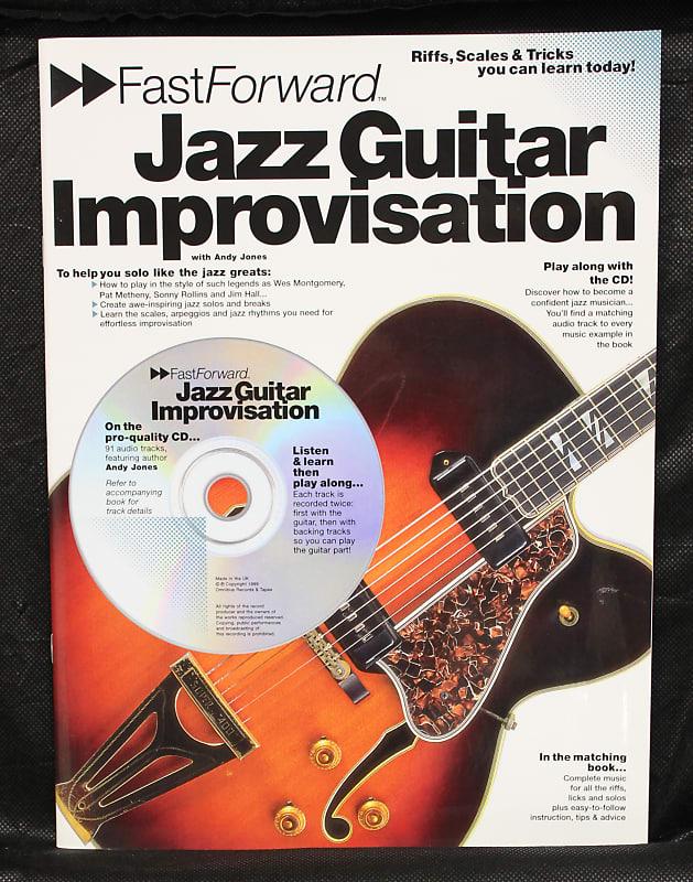 Fast Forward: Jazz Guitar Improvisation Method Softcover w/CD TAB