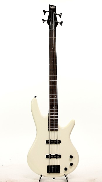 Ibanez Gio GSR320 PW Pearl White Bass Guitar Package B Stock | Reverb