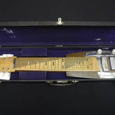 1962 Teisco Japan Vintage Lap Steel Hawaiian Guitar Model M Natural w/OHSC & Teisco | Reverb