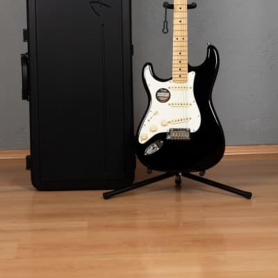 2015 Fender American Standard Stratocaster Left-Handed Black for sale