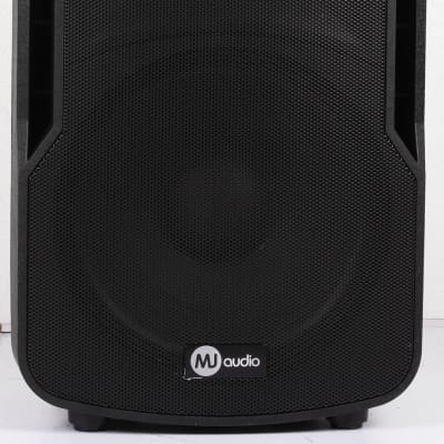 "MJ Audio BP13-15A 400W RMS 15"" 2-Way Active DJ Speaker with Bluetooth/MP3/USB/SD"