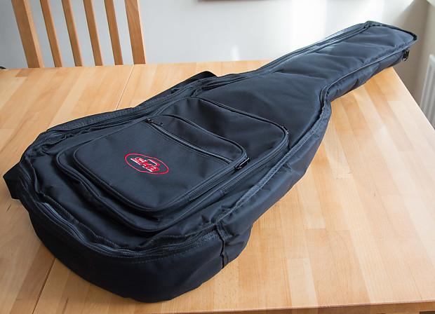 Skb 1skb Gb18 Padded Acoustic Guitar Gig Bag W Back Straps