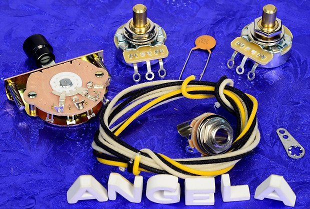Incredible Angela Instruments Basic 3 Way Wiring Kit With Barrel Switch Reverb Wiring Digital Resources Indicompassionincorg