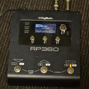 Digitech RP360 Guitar Multi-Effect Processor