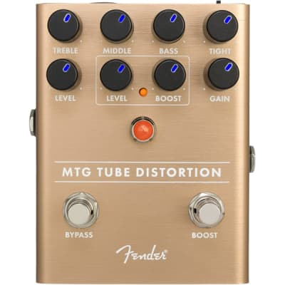 Fender MTG Tube Distortion Guitar Effect Stomp Box Pedal for sale