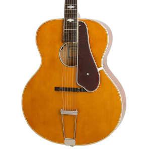 Epiphone Masterbilt Century Collection De Luxe Acoustic/Electric Guitar Vintage Natural