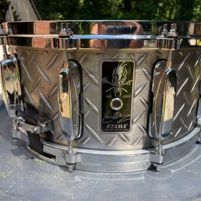 "Tama LU1465 6.5x14"" Lars Ulrich Signature Snare Drum"