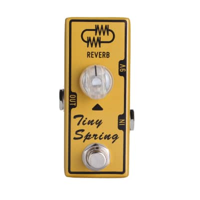 Tone City Tiny Spring Reverb TC-T16 Effect Pedal Hand Made True Bypass Free Shipping